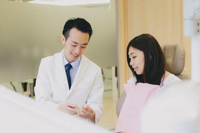 ドクターと患者様がお話している写真