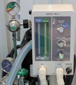 笑気ガス吸入器の写真