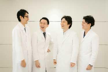 歯科医師の集合写真
