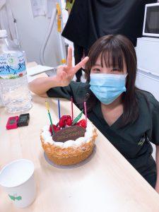 日下部さん誕生日の写真