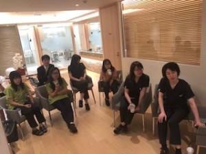 衛生士勉強会の写真